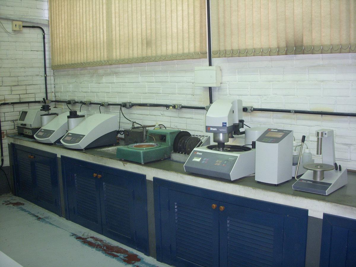 Preparação de metalográfica