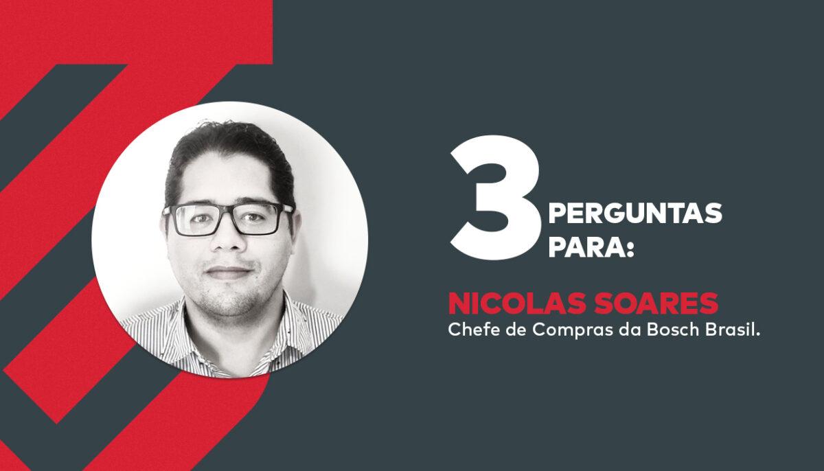 3 perguntas para Nicolas Soares